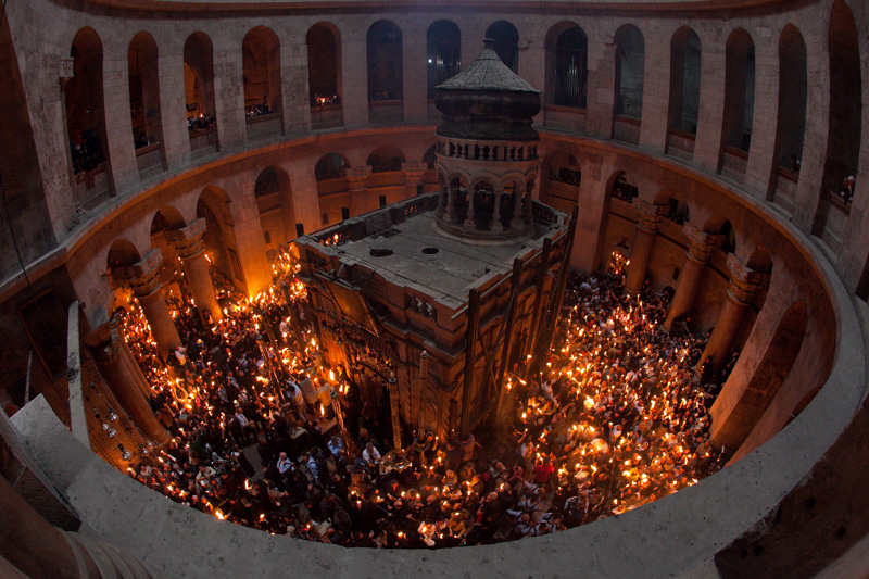 fire holy sepulcher